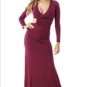 Sky Ballantyne Burgundy maxi dress BRAND new w/tag